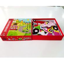Design size color pattern development intellectual card game