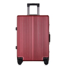 Wholesale PC women suitcase aluminium travel luggage