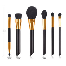 6 stk Essential Makeup Brush Set