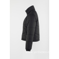 Black short  padding coat