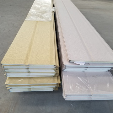 Vinyl stone look outdoor siding panels