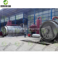 Waste Rubber Tyre Recycling Plant