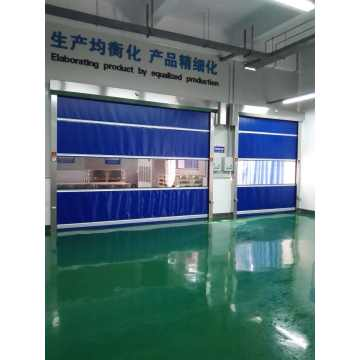 Industrial Automatic PVC Fabric Fast Rolling Door