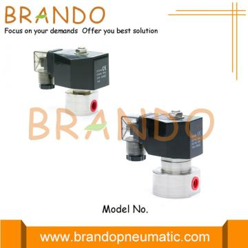 High Pressure Stainless Steel Solenid Valve 200 Bar