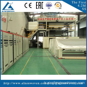 Best automatic AL-3200 SS 3200mm nonwoven machine with great price