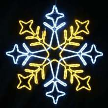 Christmas outdoor IP65 snowflake led christmas lights