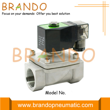 1 Inch Stainless Steel Electric Water Solenoid Valve