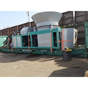 disc type wood crushing machine