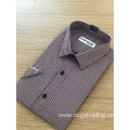 Latest Design Men′s Fashion checked short sleeve Shirt