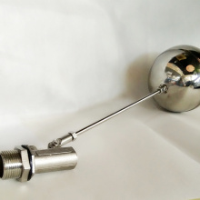 Bathroom toilet accessories Stainless steel ballcock and tank float ball valve