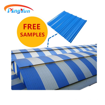 Fireproof factory PVC plastic UPVC roofing sheet