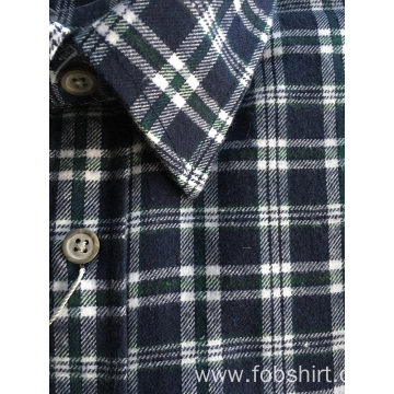 High Class Flannel Fabric Business Shirt