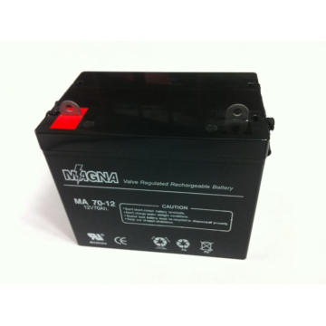 12V 70Ah VRLA AGM/SLA Batteries