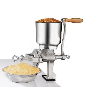 1piece Manual hand home large walnut flour mill tinned iron mill grain grinder herbs