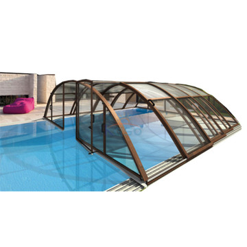 Pvc Retractable Polycarbonate Swimming Pool Cover