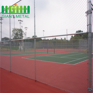 Hot sale chain link fence sports ground fencing