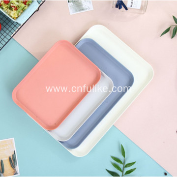 Square Bamboo Plates Tableware Wholesale