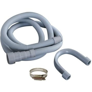 Machine Drain Hose With Clamp