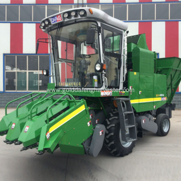 Self-propelled sweet Corn Combine Cutter picker machine