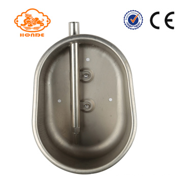 Pig Farm Thicken Stainless Steel Water Feeding Bowl