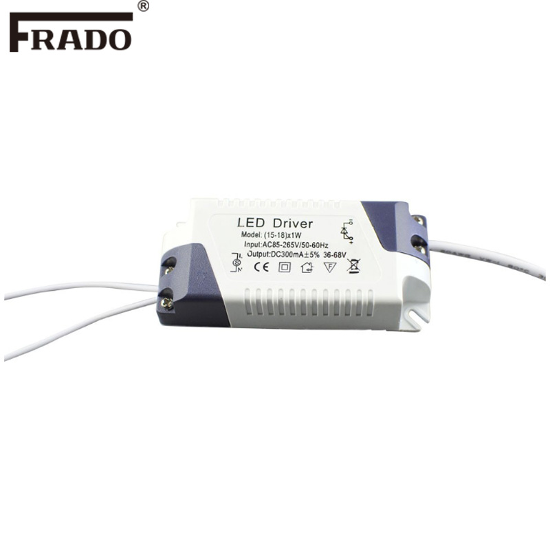 LED Driver For Panel Downlights Constant Current 3W 4-7W 8-12w 15-18W 18-24W Adapter TransformerPower supply