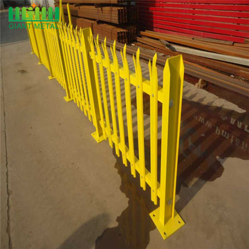 free standing temporary fencing galvanized palisade fencing