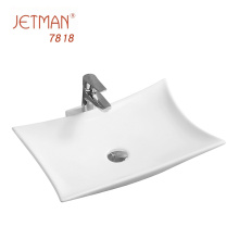 Best sales square ceramic  bathroom vanity art basin