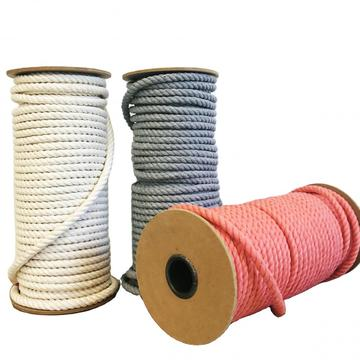 bulk pure cotton macrame rope packaging rope