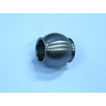 Knuckle bearing ring with bore