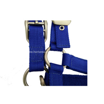 Various Color Horse Halter with Polar Fleece