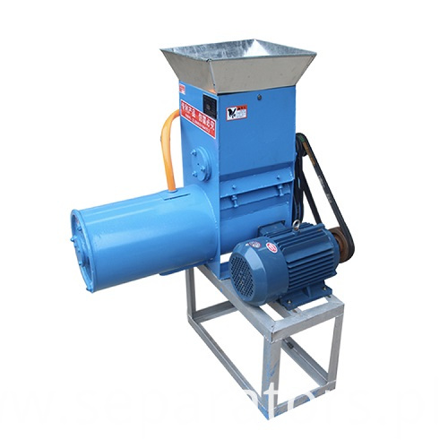 Small mini potato starch separator