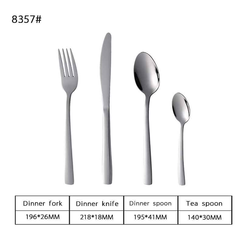 18-8 Novelty Design Stainless Steel Tableware