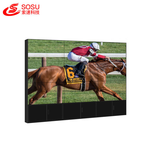 ultra narrow bezel lcd video wall with Samsung