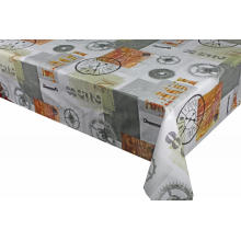 Pvc Printed fitted table covers 5Square Table Runner