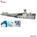 PVC 1 cavity pipe extrusion line