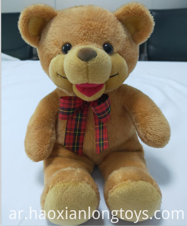 Lovely plush teddy bear toy