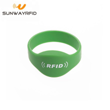 NTAG213 144byte Closed Type Oval Head rfid Wristband Price