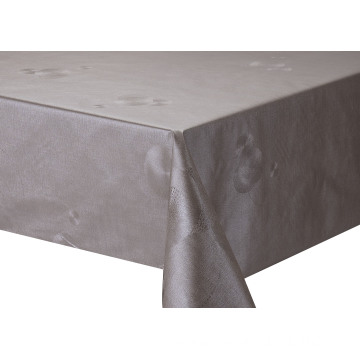 Solid Embossed Fabric Stretch Tablecloth