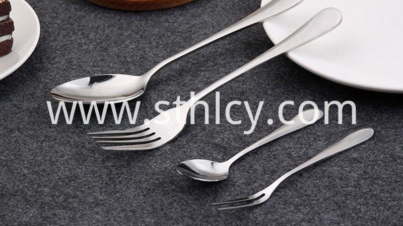 Durable safety children's knife spoon (5)