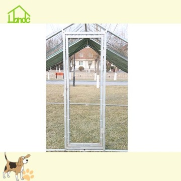 Galvanized Chicken Coop With Green Cover