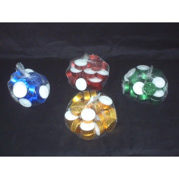 White Unscented Tealight Candles for Sale