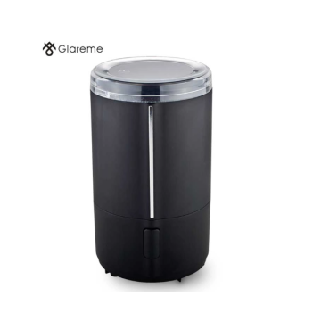 coffee grinder with transparent lid