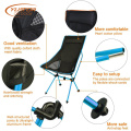 High Back Camping Chair With Mesh Cloth