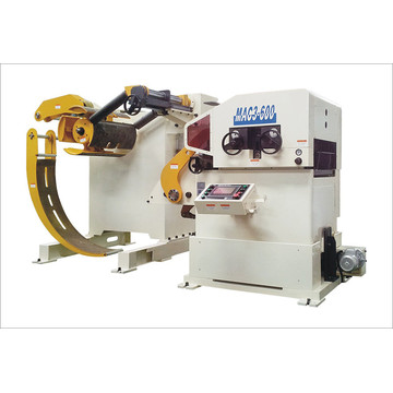 3 i 1 Servo Feeder Straightener Cum Decoiler