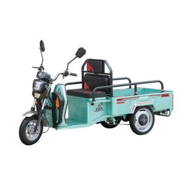 Electric leisure tricycle with three wheels for older