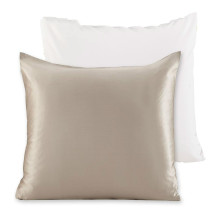 Decorative Pillows Charmeuse Both Silk Sides Gift Wrapped