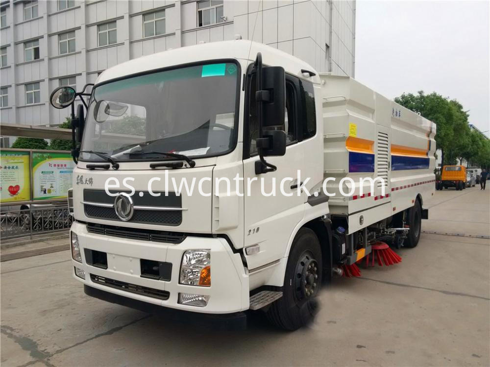 Cleaner Sweeper Truck 1