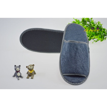 Airline Slipper Towel Gray Color Terry Slipper