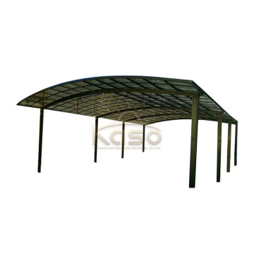 Portable Aluminium Car Garage Slope Single Canopy Carport