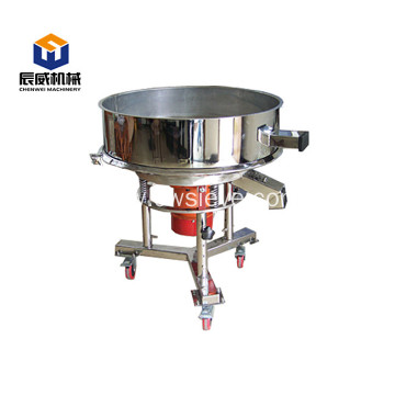 high frequency rotary industrial flour vibratory sifter